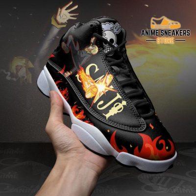 Sanji Diable Jambe Sneakers One Piece Custom Anime Shoes Jd13