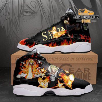 Sanji Diable Jambe Sneakers One Piece Custom Anime Shoes Men / Us6 Jd13