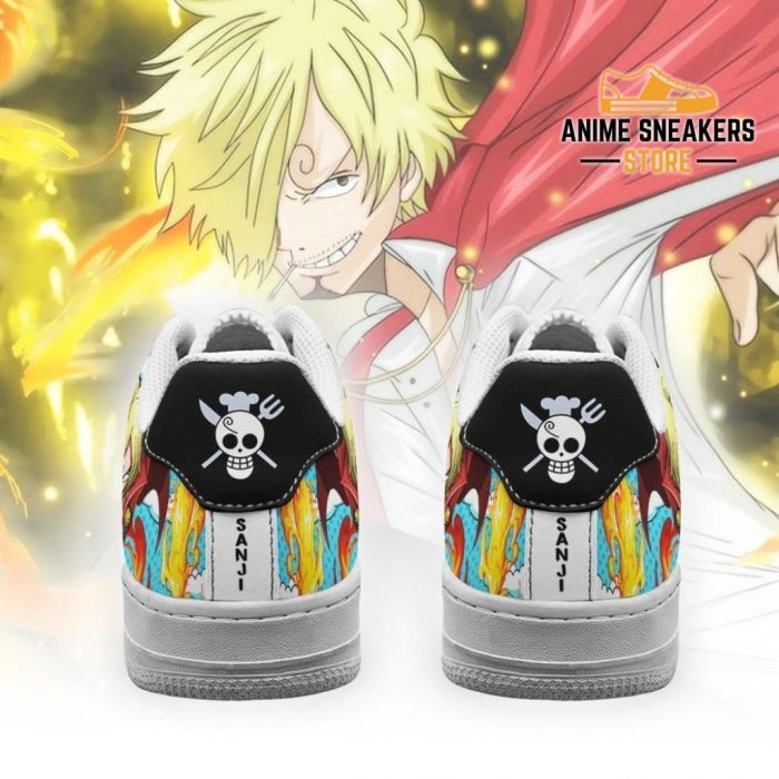 Sanji Sneakers Custom One Piece Anime Shoes Fan Pt04 Air Force