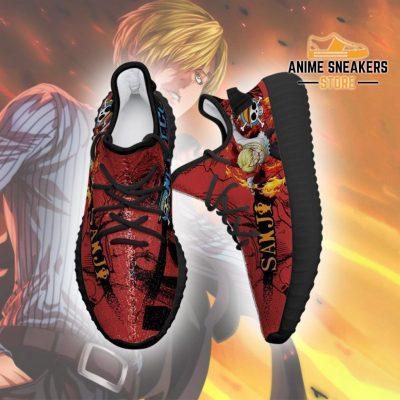 Sanji Yeezy Shoes One Piece Anime Fan Gift Tt04