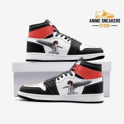 Sanosuke Sagara Samurai X Custom J-Force Shoes 3 / White Mens