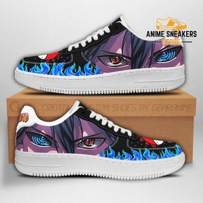 Sasuke Eyes Sneakers Naruto Anime Shoes Fan Gift Pt04 Men / Us6.5 Air Force