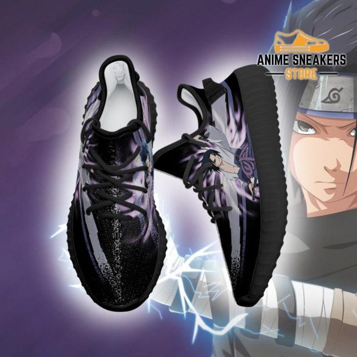 Sasuke Jutsu Yeezy Shoes Naruto Anime Fan Gift Idea Tt03