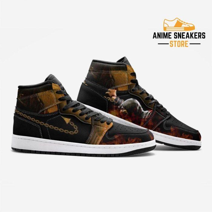 Scorpion Mortal Kombat Custom J-Force Shoes Mens