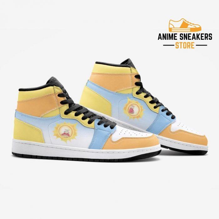 Screaming Sun Rick And Morty Custom J-Force Shoes Mens