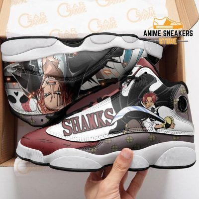 Shanks Sneakers One Piece Custom Anime Shoes Jd13
