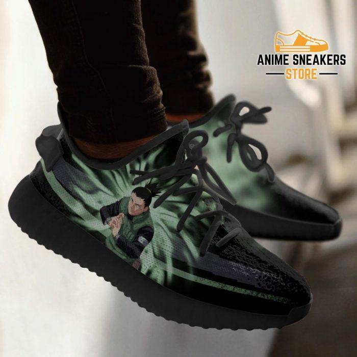 Shikamaru Jutsu Yeezy Shoes Naruto Anime Fan Gift Idea Tt03