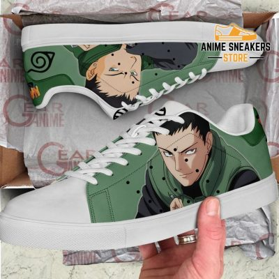 Shikamaru Nara Skate Shoes Naruto Anime Custom Pn10