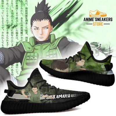Shikamaru Yeezy Shoes Naruto Anime Sneakers Fan Gift Tt03