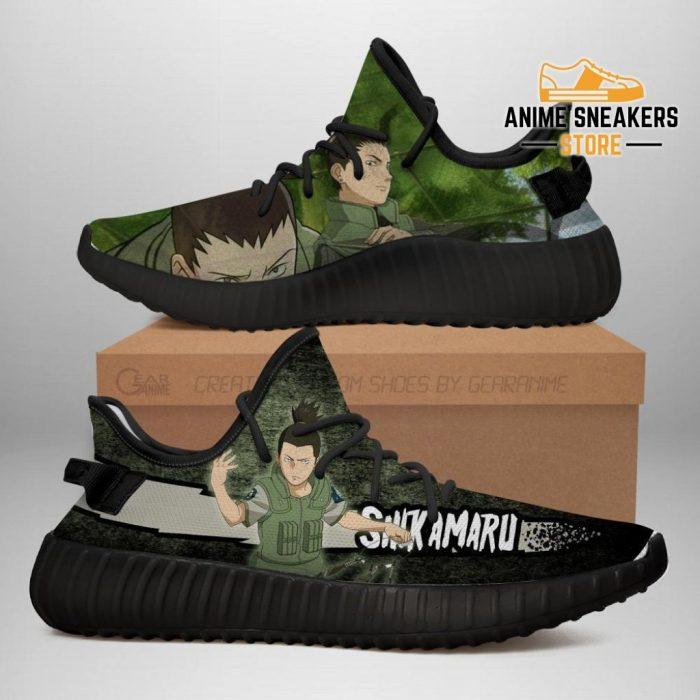 Shikamaru Yeezy Shoes Naruto Anime Sneakers Fan Gift Tt03 Men / Us6