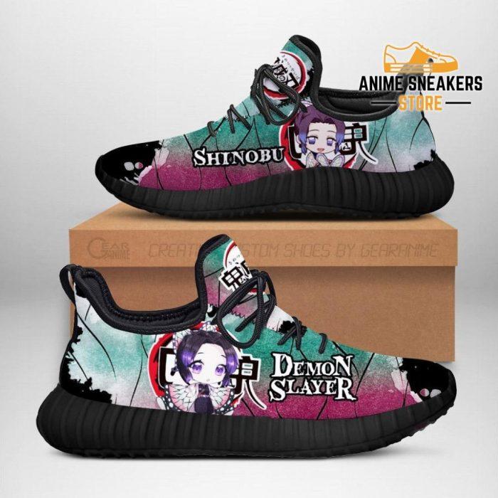 Shinobu Kocho Reze Shoes Demon Slayer Anime Sneakers Fan Gift Idea Men / Us6