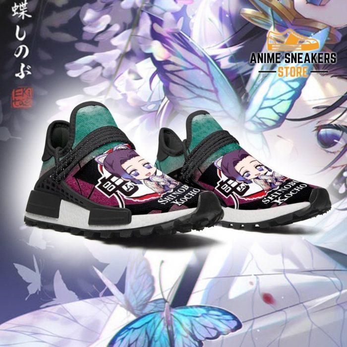 Shinobu Kocho Shoes Custom Demon Slayer Anime Sneakers Nmd