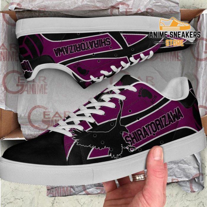 Shiratorizawa Academy Skate Shoes Haikyuu Anime Custom Pn10
