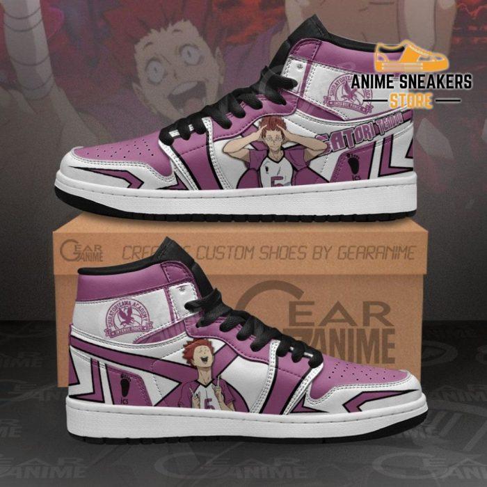 Shiratorizawa Satori Tendou Sneakers Haikyuu Anime Shoes Mn11 Men / Us6.5 Jd