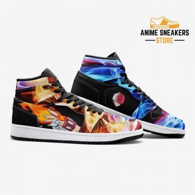 Shoto Todoroki My Hero Academia Custom J-Force Shoes Mens