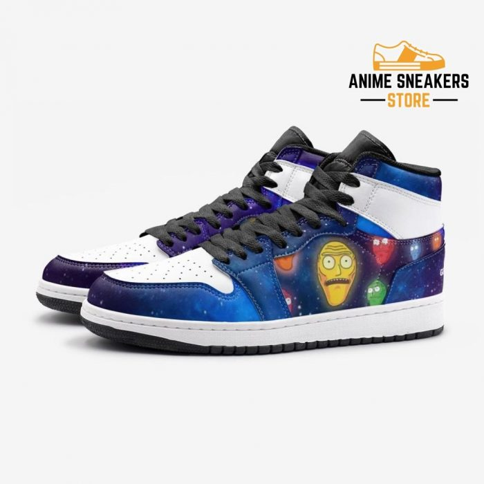 Show Me What You Got Rick And Morty Custom J-Force Shoes Mens