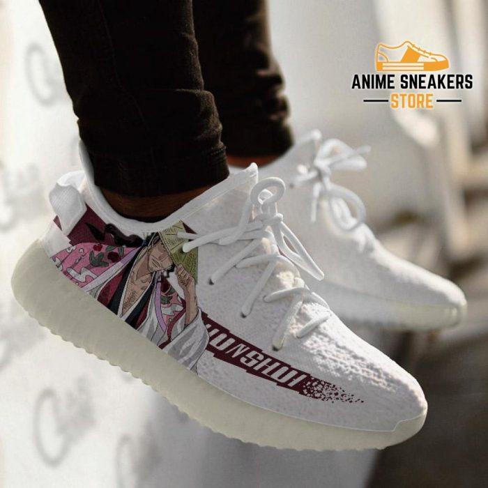 Shunsui Kyoraku Shoes Bleach Custom Anime Sneakers Yeezy