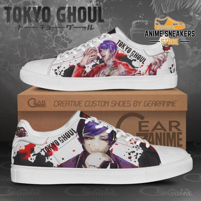 Shuu Tsukiyama Skate Shoes Tokyo Ghoul Custom Anime Pn11 Men / Us6
