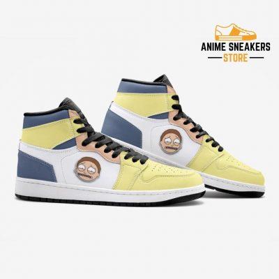 Sick Morty Rick And Custom J-Force Shoes Mens