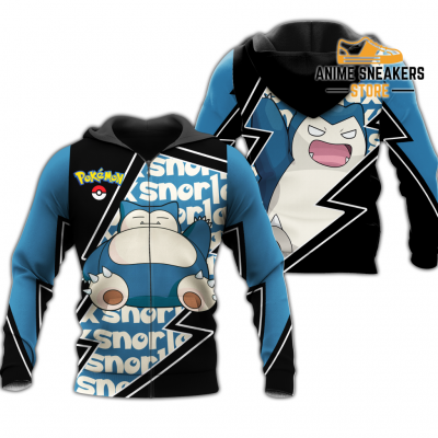 Snorlax Zip Hoodie Costume Pokemon Shirt Fan Gift Idea Va06 Adult / S All Over Printed Shirts