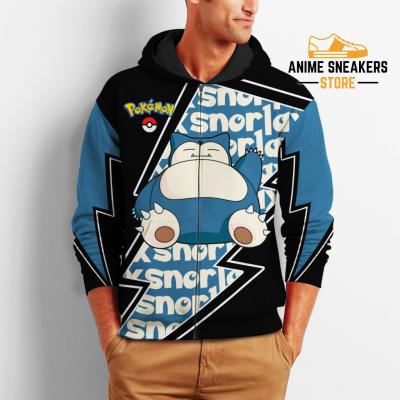 Snorlax Zip Hoodie Costume Pokemon Shirt Fan Gift Idea Va06 All Over Printed Shirts