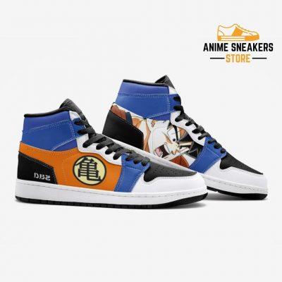 Son Goku Dragon Ball Custom J-Force Shoes Mens