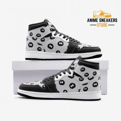 Soot Sprites My Neighbor Totoro Custom J-Force Shoes 3 / White Mens