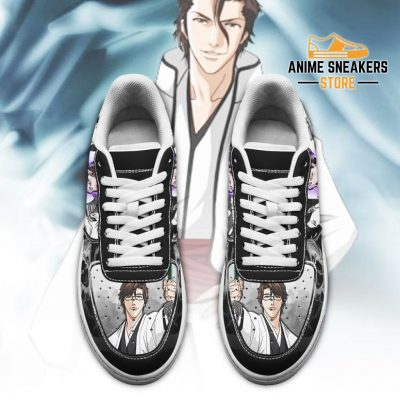 Sosuke Aizen Sneakers Bleach Anime Shoes Fan Gift Idea Pt05 Air Force