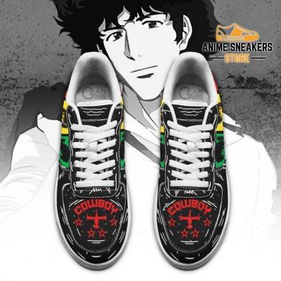 Spike Spiegel Sneakers Cowboy Bebop Anime Custom Shoes Pt10 Air Force