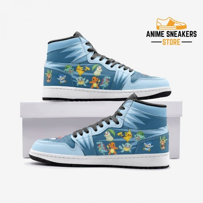 Starters Pokémon Custom J-Force Shoes 3 / White Mens