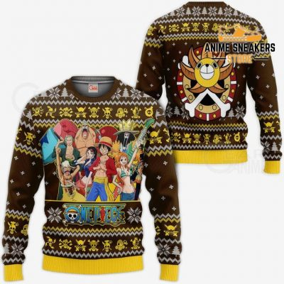 Straw Hat Pirates Ugly Christmas Sweater One Piece Anime Xmas Gift Va10 / S All Over Printed Shirts