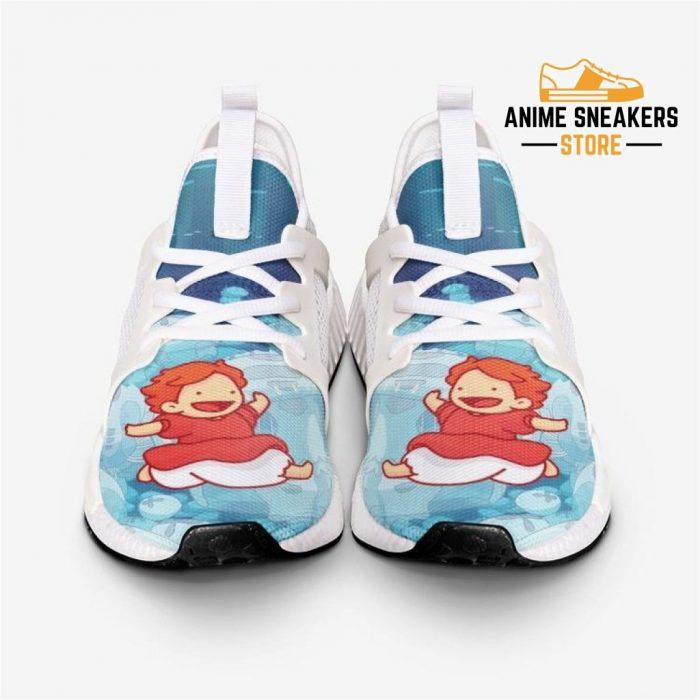 Studio Ghibli Ponyo Jumps Custom Nomad Shoes Mens