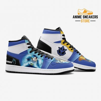 Super Saiyan Blue Vegeta Dragon Ball Custom J-Force Shoes Mens
