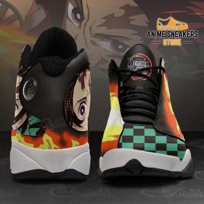 Tanjiro Kamado Sneakers Sun Breathing Demon Slayer Shoes Mn10 Jd13