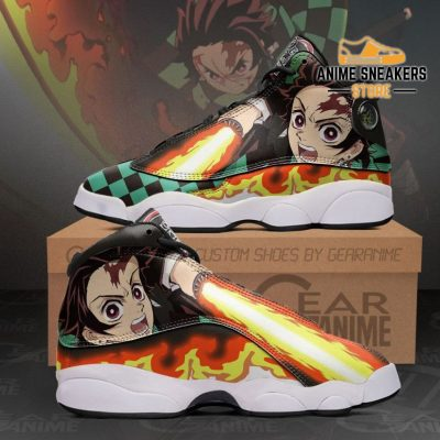 Tanjiro Kamado Sneakers Sun Breathing Demon Slayer Shoes Mn10 Men / Us6 Jd13