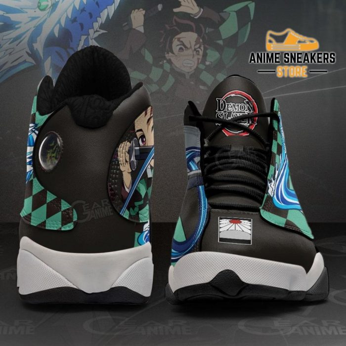 Tanjiro Kamado Sneakers Water Breathing Demon Slayer Shoes Mn10 Jd13