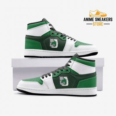 The Military Police Attack On Titan Custom J-Force Shoes 3 / White Mens