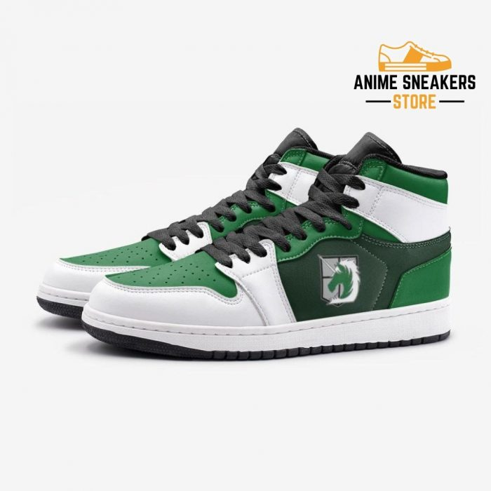 The Military Police Attack On Titan Custom J-Force Shoes Mens