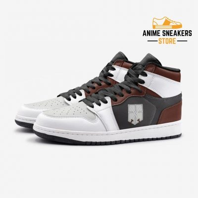 The Training Corps Attack On Titan Custom J-Force Shoes Mens