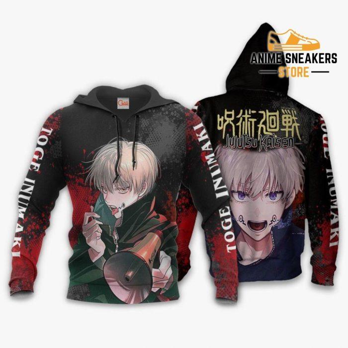 Toge Inumaki Hoodie Shirt Jujutsu Kaisen Custom Anime Jacket / S All Over Printed Shirts