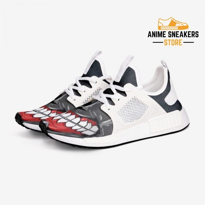 Tokyo Ghoul Mask Custom Nomad Shoes 3 / White Mens