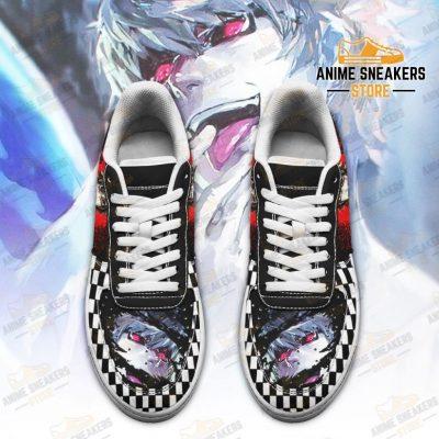 Tokyo Ghoul Nishiki Sneakers Custom Checkerboard Shoes Anime Air Force
