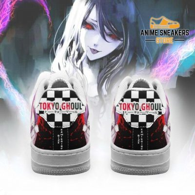 Tokyo Ghoul Rize Sneakers Custom Checkerboard Shoes Anime Air Force