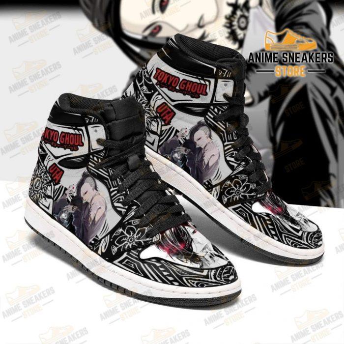 Tokyo Ghoul Uta Sneakers Custom Anime Shoes Mn05 Jd