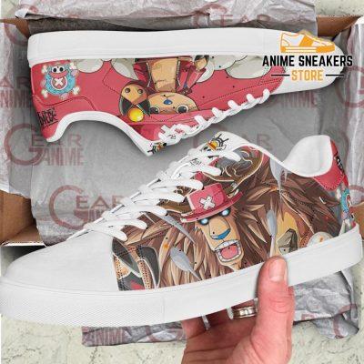 Tony Chopper Skate Shoes One Piece Custom Anime