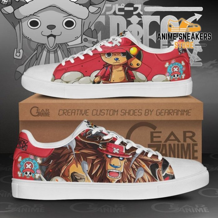 Tony Chopper Skate Shoes One Piece Custom Anime Men / Us6