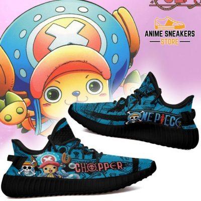 Tony Chopper Yeezy Shoes One Piece Anime Fan Gift Tt04