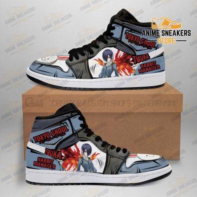 Touka Kirishima Sneakers Custom Tokyo Ghoul Anime Shoes Mn05 Men / Us6.5 Jd