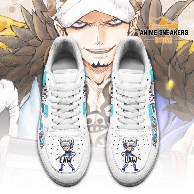 Trafalgar D. Water Law Sneakers Custom One Piece Anime Shoes Fan Pt04 Air Force
