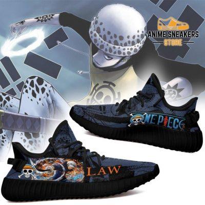 Trafalgar D. Water Law Yeezy Shoes One Piece Anime Fan Gift Tt04